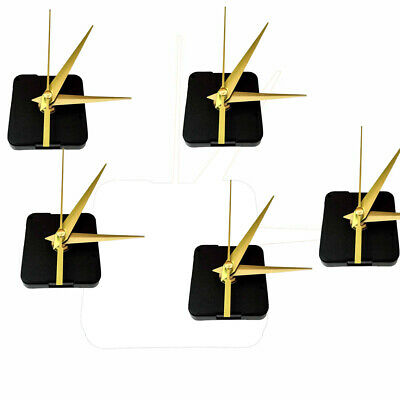 5pcs Clock Movement Mechanism Quartz with Hands Parts. Wall Clock DIY Set R1M5P