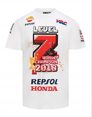 Marc Marquez T-shirt official level 7 world champion Located in USA
