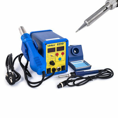 Yihua 899D +2-in-1 Digital Soldering/Hot Cpu-Pid-Regler for both 75W/650W