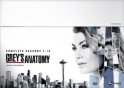 Grey's Anatomy: Complete Seasons 1-14 =Region 2 DVD,sealed=