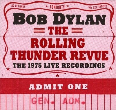 Bob Dylan - The Rolling Thunder Revue: The 1975 Live Recording CD (14) Col NEW
