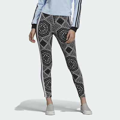 922272c6fa6ab7 adidas Originals Leggings Damen Leggings Schwarz Freizeit-Leggings Freizeit