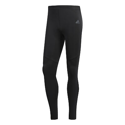 ADIDAS HERREN RESPONSE Long Tight Running Laufhose schwarz