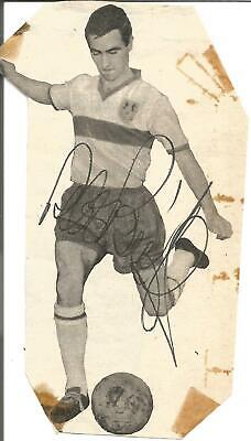 Football Autograph Peter Burridge Crystal Palace Signed Magazine Picture F1093