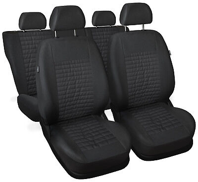 CAR SEAT COVERS full set fit Kia Sportage - leatherette Eco leather grey