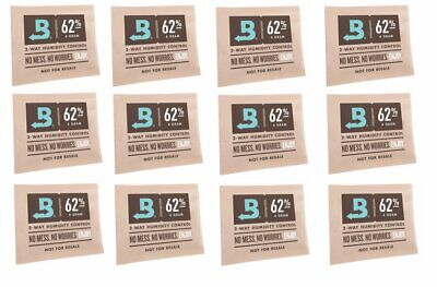 Boveda RH 62% 2 Way Humidity Control Micro 4g Gram - 12 pack