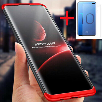For iPhone Samsung Nokia 360° Full Body Shockproof Slim Case+Screen Protector