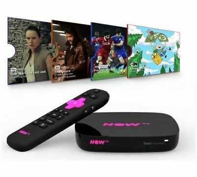 NOW TV Smart Box with 4K and Voice Search (NO PASS INCLUDED)