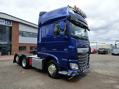 DAF XF106 SUPER SPACE *Eu-6* TAG AXLE 6x2 TRACTOR UNIT 2015
