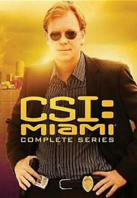 CSI: MIAMI - THE COMPLETE SERIES (Region 1 DVD,US Import,sealed.)