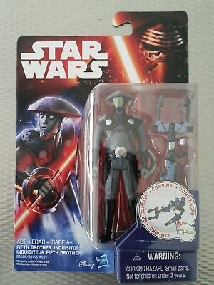 """STAR WARS REBELS 3.75"""" Action Figure - FIFTH BROTHER INQUISITOR - NEW"""