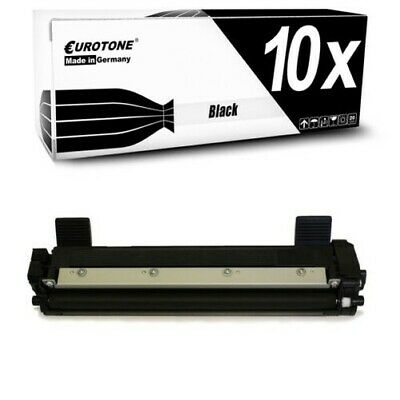 10x Eurotone Toner Compatibile per Brother TN-1050 TN1050