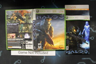 HALO 3 (XBOX 360) Replacement Case, No Game - $1 99 | PicClick