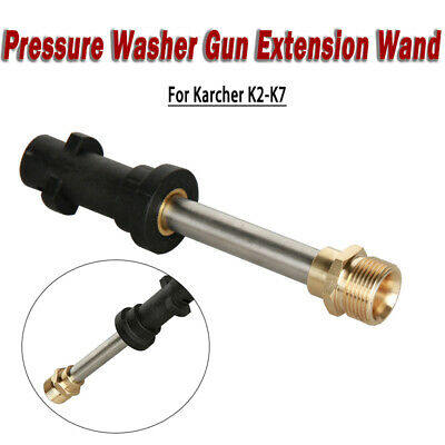 Pressure Washer Gun Extension Wand/Lance with Adapter for Karcher K2-K7