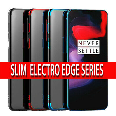 Case for OnePlus 7 Pro Luxury Ultra Slim Shockproof Silicone Clear Cover