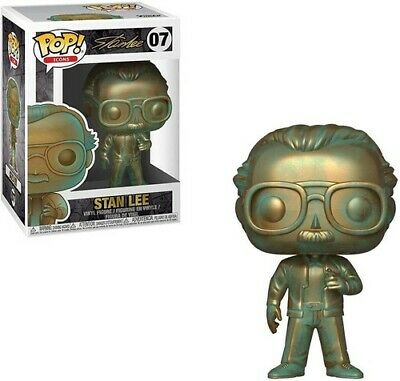 Stan Lee (Patina) - Funko Pop!: (2019, Toy NUEVO)