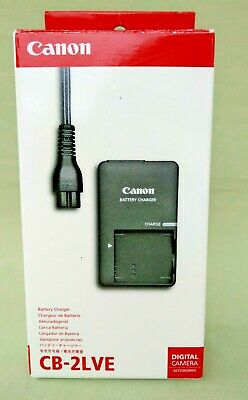 NOS Canon Battery Charger CB-2LVE Genuine Digital Camera Accessories