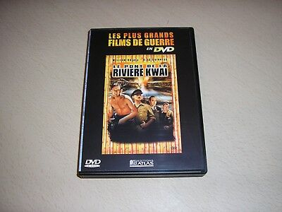 "DVD guerre,""LE PONT DE LA RIVIERE KWAI"",william holden"