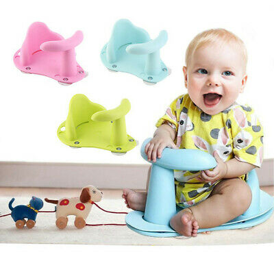 Baby Bath Tub Ring Seat Infant Child Toddler Kids Anti Slip Safety Toy Chair