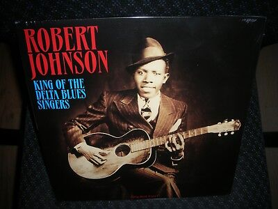 Robert Johnson *King Of The Delta Blues Singers *NEW RED COLORED RECORD LP VINYL