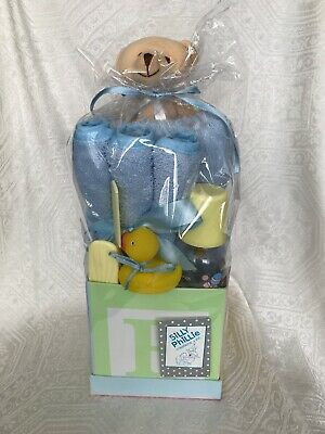 Silly Phillie Sweet Baby Gift in Blue 8 pieces