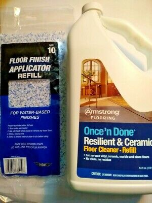 Armstrong Once And Done Resilient Ceramic Floor Cleaner