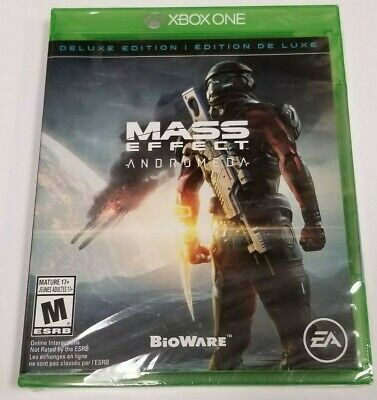 Mass Effect Andromeda Deluxe Edition for Microsoft XBOX ONE *BRAND NEW*