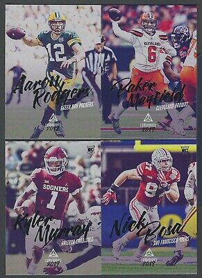 2019 Panini Luminance Veterans and Rookies #1-200 COMPLETE YOUR SET You Pick!