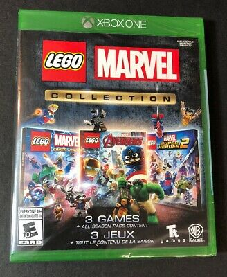 LEGO Marvel Collection [ 3 Games in 1 Pack ] (XBOX ONE) NEW