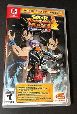 Super Dragon Ball Heroes World Mission [ Hero Edition ] (Nintendo Switch) NEW