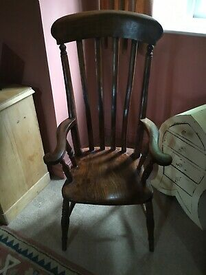 Antique  Oak Farmhouse Chair