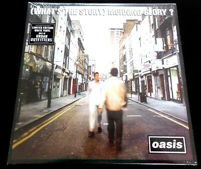 OASIS  - WHAT'S THE STORY MORNING GLORY 2 x  LP  - WHITE VINYL  LIMITED TO 3000