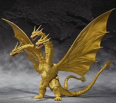 Bandai S.H.MonsterArts Godzilla King Ghidorah Special Color ver. Figure^^