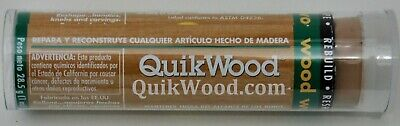 "1-QuikWood 1oz. 3.5 ""  Wood Repair Epoxy Putty Woodcarving, Gourd Art, QuickWood"