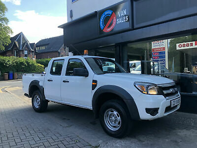 2010/60 Ford Ranger 2.5TDCi 4x4 XL double cab pick up