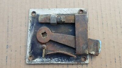 Antique Door Rim Lock Latch