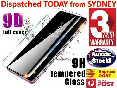 Samsung Galaxy S9 Plus S8 S8+ S7  9D Full Cover Tempered Glass Screen Protector