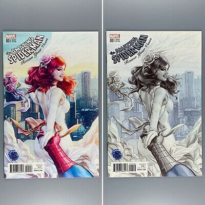 AMAZING SPIDERMAN RENEW YOUR VOWS 1 LEGACY ARTGERM COPIC VARIANT