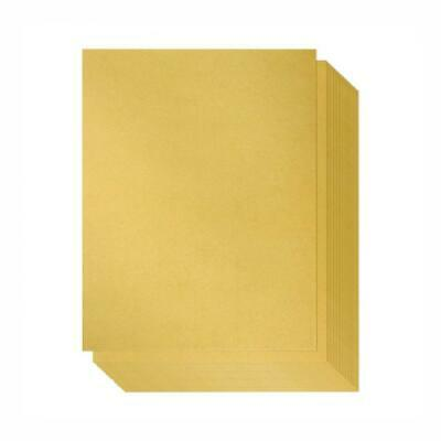 Shimmer Paper – 96-Pack Gold Metallic Cardstock Paper, Double Sided,