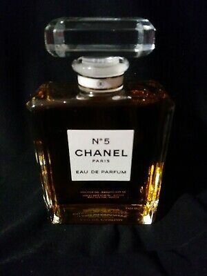 Chanel No 5 Eau de Parfum FAKE Store Display 3.4oz Rare