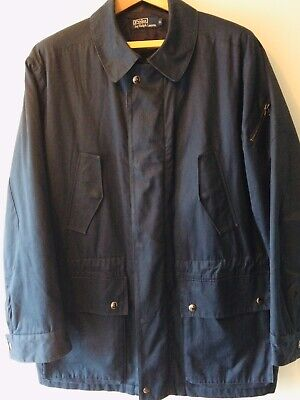 ralph lauren Polo Men's Military Navy Coat Jacket XL