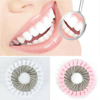 Multi-Color Polishing Cup Brushes 10 Dental Prophy Brush Type Colorful White