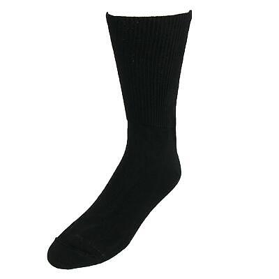 New Extra Wide Sock Co. Men's Big & Tall Cotton Medical Support Socks