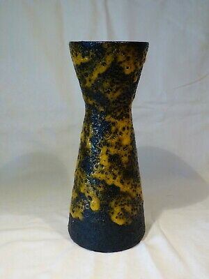 70er Jahre Roth Keramik Vase Fat Lava W.Germany Pottery Ceramics