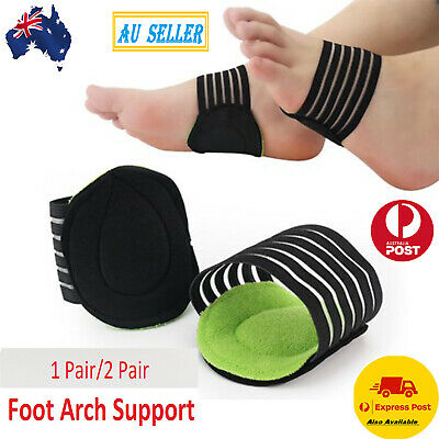 1x/2x ARCH Support Shoe Soft Insole Flat Feet PAIN RELIEF Plantar Fasciitis Foot