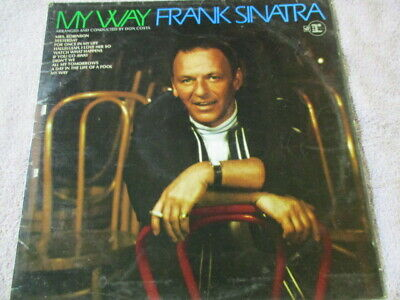 "Frank Sinatra,My way,12"" lp record,ungraded,fast post :)"