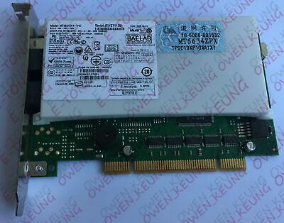 MT5634PX-PCI MODEM WINDOWS VISTA DRIVER DOWNLOAD