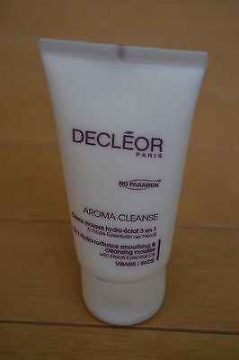 SALE Decleor Paris Aroma Cleanse 3-in-1 facial cleansing mousse travel size 50ml