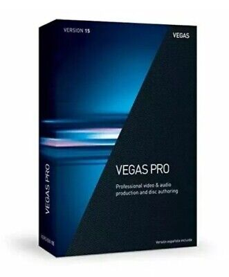 Sony Vegas Pro 15 64 Bit Version For Windows Video Editing Software