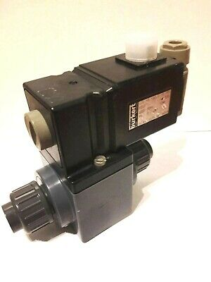 Burkert 17112 00017112 New Ref 50549 00050549 Toggle 2/2 Valve Direct Acting